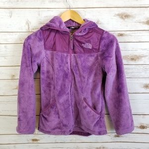 The North Face   Furry Fleece Full Zip Jacket